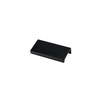 Мебелна дръжка Г профил черен гланц