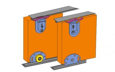 Механизъм за плъзгащи врати  до 40 кг    STG-40