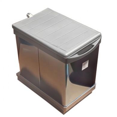 Кош за вграждане - PVC + алпака   16 L.             21700