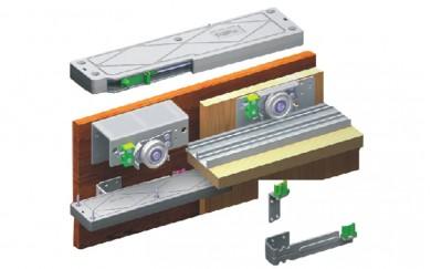 Успокоител за плъзгащи врати SFT-003