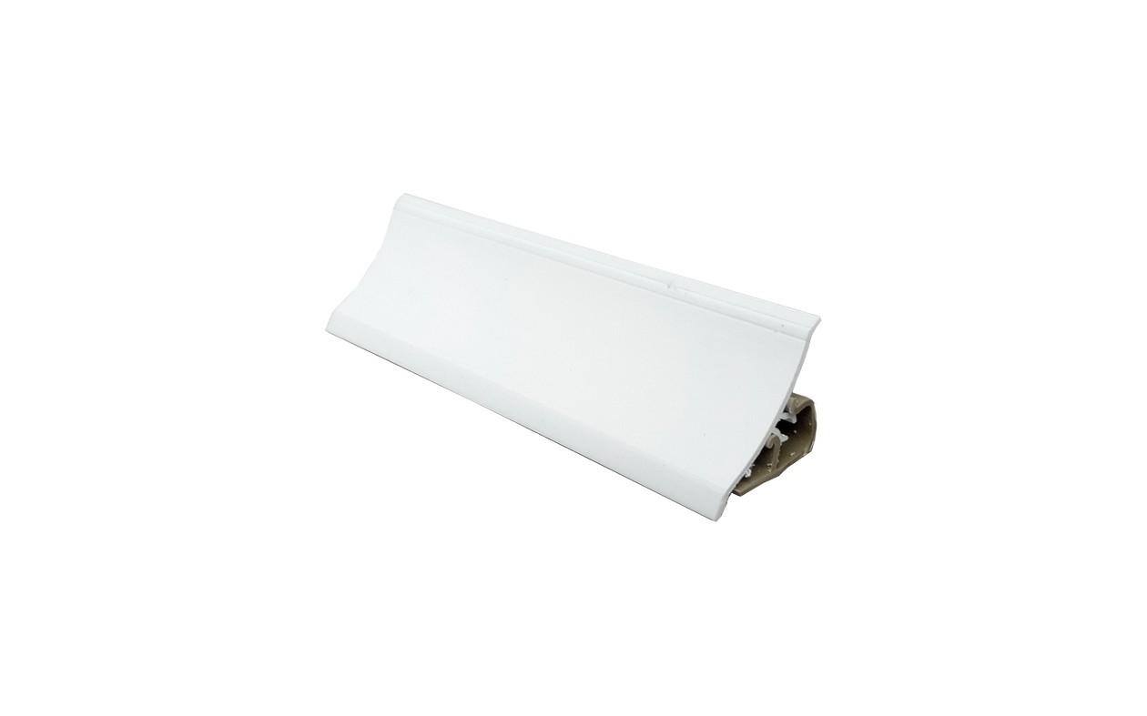 PVC  водобранна лайсна - малка  бял гланц    TRMPL   3.00 m.