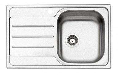 Мивка 50 х 79   0.6 mm    170 mm  голям сифон - рифел