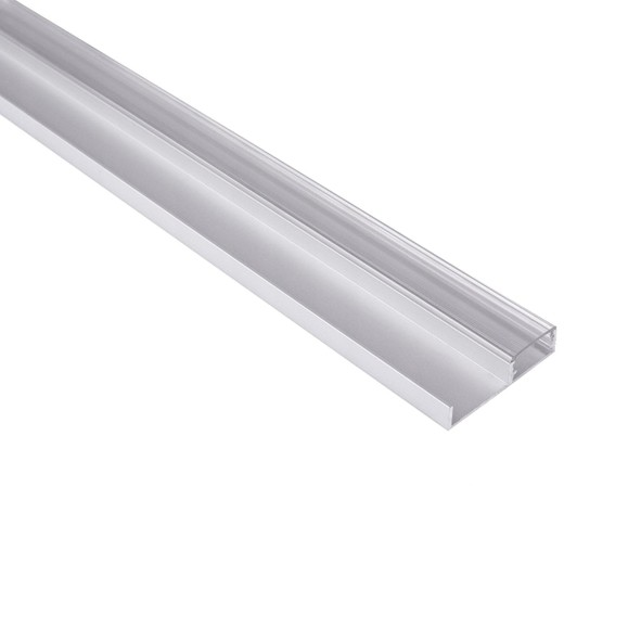 Алуминиев профил за LED лента за цокъл под шкаф  FLOORLINE