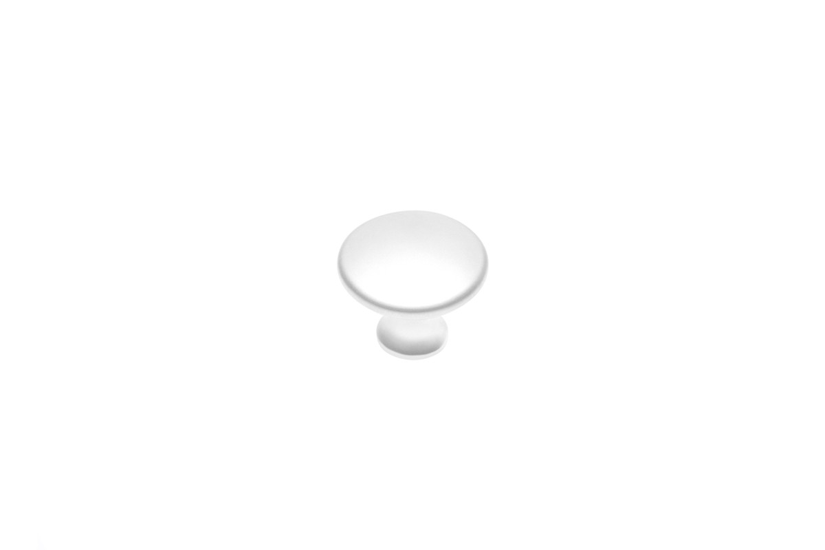 Дръжка 1189 топче бял мат