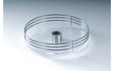 Въртяща  кръгла кошница - стъклено дъно Starax