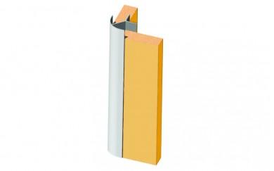 Алуминиев свързващ профил за плоскост 8 mm