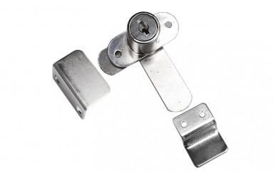 Ключалка за гардеробни врати с двоен език