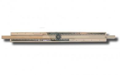Дървен телескопичен механизъм за маса