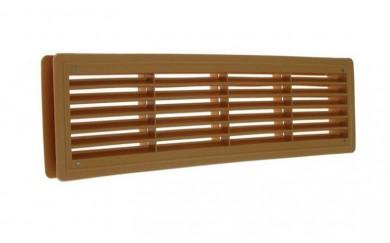 PVC решетка за врата - двулицева