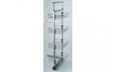 Кухненски механизъм за вграждане  -  5  кошници
