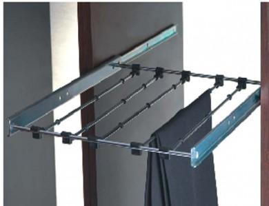 Механизъм за панталони фиксиран - полу-изтегляне