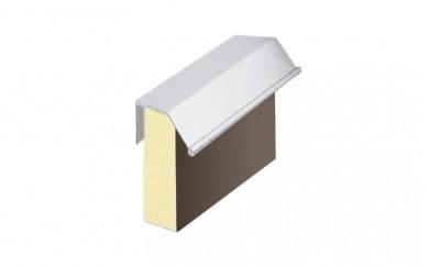 Алуминиева кант дръжка за гардеробна врата 18 mm