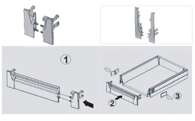 Монтажни планки за челен панел
