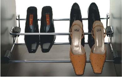 Поставка за обувки - регулираща