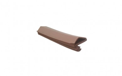 Уплътнение за врати - асиметрично перо 12 mm