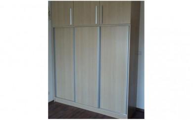 Механизъм за плъзгащи гардеробни врати до 70 кг.   IVENTO 02
