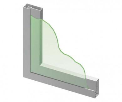 Алуминиев профил за врата